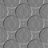 Modelo inconsútil del arte de Op. Sys. del vector abstracto Arte pop monocromático, gra libre illustration