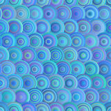 Modelo inconsútil del azul del círculo Fotos de archivo libres de regalías