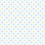 Modelo inconsútil del bebé, pared retra geométrica en colores pastel del ornamento de los niños Foto de archivo libre de regalías