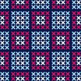 Modelo inconsútil del boho étnico bordado Ornamento tradicional Fondo geométrico Modelo tribal Adorno popular libre illustration