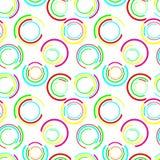 Modelo inconsútil del círculo Imagen de archivo libre de regalías