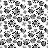 Modelo inconsútil del círculo de la ilusión Fotos de archivo libres de regalías
