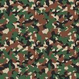 Modelo inconsútil del camo militar Contexto del camuflaje en Forest Green libre illustration