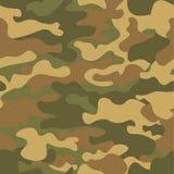 Modelo inconsútil del camuflaje Textura de color caqui, ejemplo del vector Fondo de la impresión de Camo Contexto militar abstrac ilustración del vector