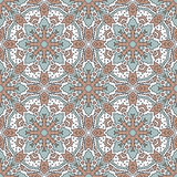 Modelo inconsútil del color con el modelo geométrico Imagenes de archivo