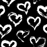 Modelo inconsútil del corazón Fotos de archivo libres de regalías