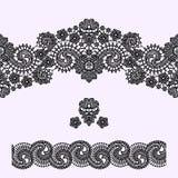 Modelo inconsútil del cordón Fondo del vector del cordón ilustración del vector