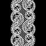 Modelo inconsútil del cordón Fondo del vector del cordón stock de ilustración