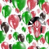 Modelo inconsútil del Día de la Independencia de Kenia Imagen de archivo