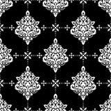 Modelo inconsútil del damasco del vector Imagen de archivo libre de regalías