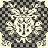 Modelo inconsútil del damasco del vector hermoso Imagen de archivo