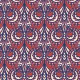 Modelo inconsútil del damasco floral adornado de Paisley Por todo fondo del vector de la simetría de la impresión Ornamentales ét libre illustration