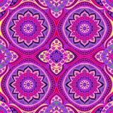 Modelo inconsútil del damasco Impresión de color para las materias textiles handmade Vec libre illustration