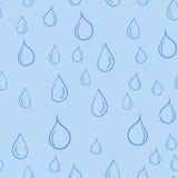 Modelo inconsútil del descenso del agua de la historieta Foto de archivo libre de regalías