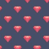 Modelo inconsútil del diamante Fotografía de archivo libre de regalías