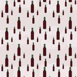 Modelo inconsútil del ejemplo de la botella de vino