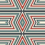 Modelo inconsútil del estilo étnico Fondo abstracto de los nativos americanos Adorno tribal Papel digital elegante de Boho libre illustration