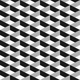 modelo inconsútil del extracto del vector 3d Red gris Imágenes de archivo libres de regalías