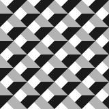 modelo inconsútil del extracto del vector 3d Red gris Imagen de archivo libre de regalías