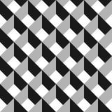 modelo inconsútil del extracto del vector 3d Red gris Imagenes de archivo
