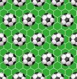 Modelo inconsútil del fútbol Imagen de archivo libre de regalías