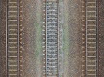 Modelo inconsútil del ferrocarril, contexto Imagen de archivo libre de regalías