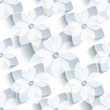 Modelo inconsútil del fondo con Sakura estilizado Imagen de archivo libre de regalías