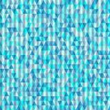 Modelo inconsútil del fondo de triángulos Imagen de archivo