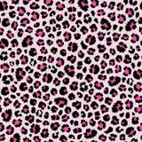 Modelo inconsútil del leopardo Estampado de animales Fondo del vector Foto de archivo libre de regalías
