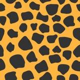 Modelo inconsútil del leopardo estilo 80s ilustración del vector