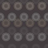 Modelo inconsútil del lunar E halftone Fondo geométrico Textura del garabato Imagen de archivo libre de regalías