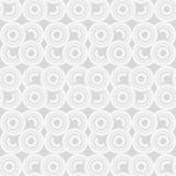 Modelo inconsútil del lunar halftone Fondo geométrico Textura del garabato Foto de archivo libre de regalías