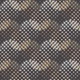 Modelo inconsútil del lunar La textura de los puntos halftone Fondo geométrico Textura del garabato Imagen de archivo libre de regalías