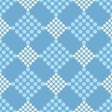 Modelo inconsútil del lunar Trama de la mano brushwork halftone Fondo geométrico Textura del garabato Imágenes de archivo libres de regalías