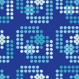 Modelo inconsútil del lunar Trama de la mano brushwork halftone Fondo geométrico Textura del garabato Imagen de archivo libre de regalías