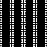 Modelo inconsútil del lunar Trama de la mano brushwork halftone Fondo geométrico Textura del garabato Fotografía de archivo libre de regalías