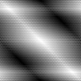 Modelo inconsútil del metal Fotografía de archivo
