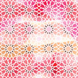 Modelo inconsútil del ornamento árabe Foto de archivo libre de regalías