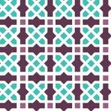 Modelo inconsútil del ornamento árabe Imagen de archivo