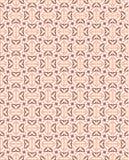 Modelo inconsútil del ornamento geométrico del bordado stock de ilustración