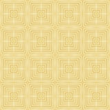 Modelo inconsútil del oro, fondo de oro del estilo Foto de archivo