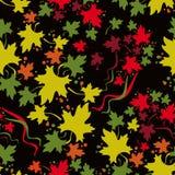 Modelo inconsútil del otoño Imagen de archivo libre de regalías