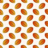 Modelo inconsútil del otoño Fondo del vector Imagen de archivo libre de regalías