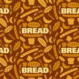 Modelo inconsútil del pan Imagen de archivo