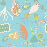Modelo inconsútil del plancton Imagenes de archivo