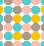 Modelo inconsútil del polígono geométrico del vector Imágenes de archivo libres de regalías