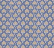 Modelo inconsútil del Ramadán Fondo adornado abstracto simple Ilustración del vector para su agua dulce de design Fotos de archivo