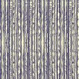 Modelo inconsútil del teñido anudado del shibori del vector del color amarillo en lila Telas de la pintura de la mano - batik nod ilustración del vector