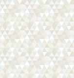Modelo inconsútil del triángulo, fondo, textura stock de ilustración