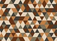 Modelo inconsútil del triángulo geométrico colorido Vagos abstractos del vector Imagen de archivo